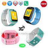 3G GPS van de Jonge geitjes/van het Kind van de Camera van WiFi het Horloge van de Drijver met multi-Talen