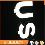 Cartas echadas a un lado dobles de acrílico de Yijiao LED