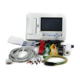 7 video della macchina EKG di Recg del cavo dello schermo di tocco di pollice 12