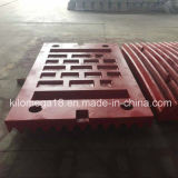 Sale caldo Fixed e Swing Jaw Plate per Jaw Crusher