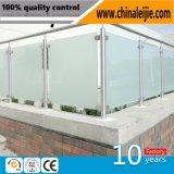 Edelstahl-Glasbalustrade für Balkon oder Treppenhaus