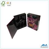 Luxo por atacado do presente da forma da alta qualidade que empacota a caixa negra magnética