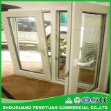 UPVC/алюминиевых раздвижных окон двойные стекла