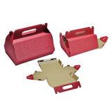 Audit Factory Durable Mailing Corrugated Cardboard Box Dobrando caixa de papelão ondulado para brinquedos / roupas / comida