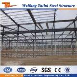 Edificios fabricados estructurales del taller de la fábrica de la estructura de acero de la luz del bajo costo con diseño del gráfico de la grúa