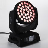 36*15W RGBWA UV6in1 LED Moving Head Zoom Moving Head Wash Stage Light
