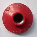 Colore rosso/arancione FM/UL del riduttore concentrico filettato