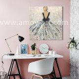 Ручная работа красивые леди картины маслом на холсте для украшения дома и в офисе