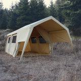 Открытый роскошный хлопок Canvas семьи сафари кемпинг палатка с передним тент