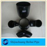 Gomito senza giunte dell'accessorio per tubi del acciaio al carbonio dell'ANSI B16.9 A234 Wpb