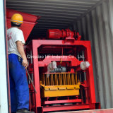 Qt4-40 Nicaragua bloc machine à briques d'Interverrouillage de la machine de la couche de sol