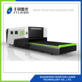 corte completo intercambiado 2000W Machine3015 del grabador/laser del cortador del laser de Firber de la protección de la plataforma