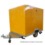 Wellen-Nahrungsmittelschlußteil mobiler der Getränk-Nahrungsmittel-LKW-reisender Karren-zwei