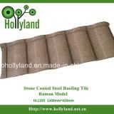 Azulejo de acero revestido de piedra (teja romana)