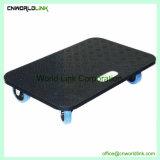 Carrello del hardware di trasporto della mobilia del rullo di plastica