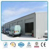Helle Stahlkonstruktion-Garage und Stahlblech-Stahlkonstruktion-Autoparkplatz