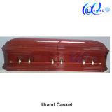 Best Seller Cherry Painting Color Unique Style Coffin and Casket