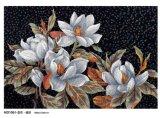 Flower Pattern Glass Mosaic Hand-Cut Design (MD1016)