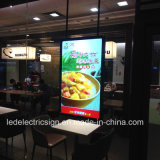 Tableau de bord LED Menu Boards Restaurant Fast Food Light Box
