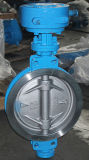 Válvula de borboleta Wafer de vedação de metal