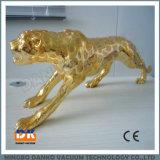Color oro y plata de la máquina de revestimiento PVD