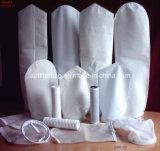 Saco de filtro de líquido de polipropileno para tratamento de água