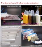 Sacchetto di conservazione di alimento di vuoto, impresso o non impresso