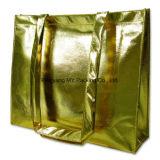 고품질 주문 인쇄 금에 의하여 박판으로 만들어지는 PP 비 길쌈된 부대