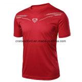2017 новый дизайн мужских спортивных дышащий сжатия режим быстрой сушки Quick-Dry футболка