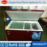Congelatore esterno del gelato della cassa congelatori domestici variopinti del congelatore dei piccoli