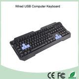 Связанная проволокой клавиатура плана USB испанская (KB-1688)