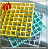 Rejilla de plástico reforzado con fibra de fibra de vidrio Venta caliente con precio competitivo