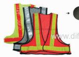 Veste elevada da segurança da visibilidade com certificação (DFV1037)