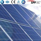低い鉄が付いている反射防止の上塗を施してある太陽ガラス