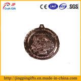 Medaglia su ordinazione superiore del metallo di sport di prezzi di fabbrica di vendita
