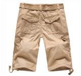 Mens 우연한 작업복용 면직물 면 짧은 바지는 Trouser를 푼다