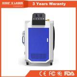Pulitore 50W 100W 200W del laser della macchina di pulizia della macchia di olio della vernice della ruggine