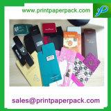 Роскошной напечатанная таможней бумажная складывая коробка упаковки ювелирных изделий ресниц косметическая