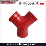 ASTM-A536 raccordi in ferro duttile con gola Y per sistemi antincendio