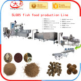 Vis d'aliments pour poissons flottant double Machine de l'extrudeuse