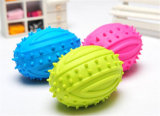 Surtidor coloreado aduana de las pelotas de tenis del perro de la bola del animal doméstico
