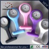 Fabrication de gros en Chine Cheap Custom Logo Quartz Silicon Rubber Strap Nurse Medical Watch (DC-182)