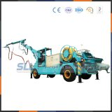 Sistema de pulverização de concreto molhado (braço de bomba / pulverizador / concreto projetado)