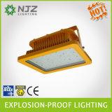 Luz ininflamable Zone1, 2 zona 21, 22 Atex + estándar de Iecex usado en la gasolinera explosiva de las atmósferas, fábrica de productos químicos
