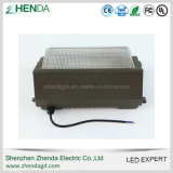 Iluminación al aire libre arquitectónica 80W 100W 120W LED Wallpack