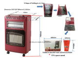 Gas e riscaldatore elettrico con il bruciatore infrarosso di ceramica