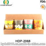 Netter Entwurf BPA geben Plastikbambusfaser-Cup frei (HDP-2068)