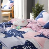 Regina di Microfiber 3 PCS e re stampati prezzo poco costoso Duvet Cover Set