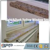 Davanzale beige/giallo di pietra naturale della finestra del granito per la decorazione della Camera