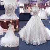 China personalizado vestido de casamento muçulmano Suite Dress Wgf182